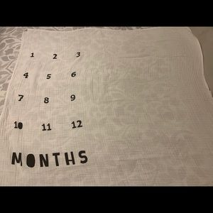 Baby Growth Picture Blanket